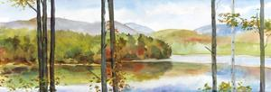 Autumn Lake I by Elissa Gore