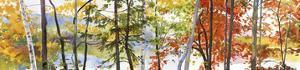 Autumn Lake II by Elissa Gore