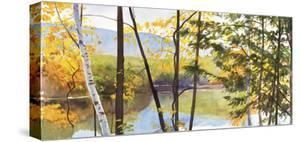 Autumn Lake IV by Elissa Gore