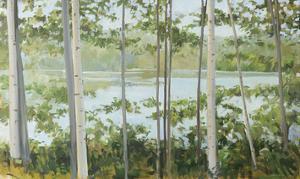 Birch Lake by Elissa Gore