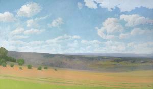 Hayfield I by Elissa Gore