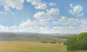 Hayfield II by Elissa Gore