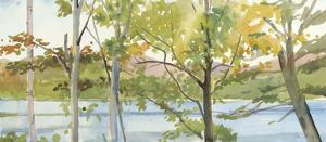 Lake Study (right) by Elissa Gore