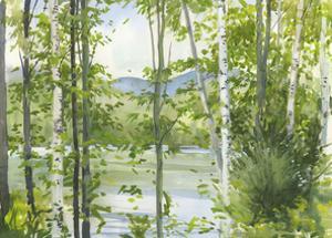 Summer Lake III by Elissa Gore