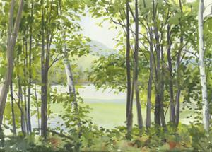 Summer Lake V by Elissa Gore