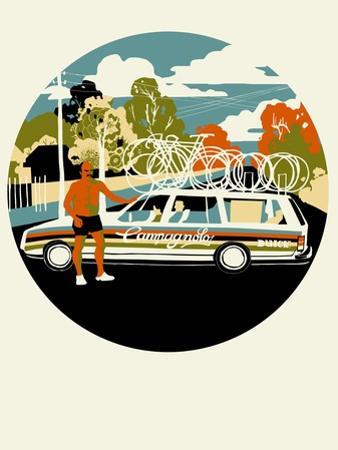 Campagnolo Team Car, 2013 by Eliza Southwood