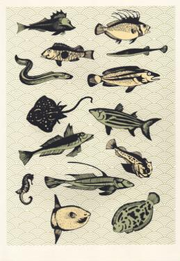 Yellow Japanese Fish, 2016 by Eliza Southwood