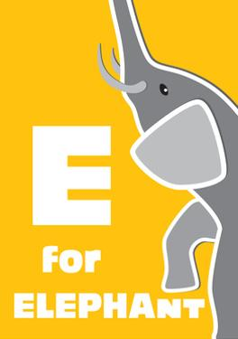 E For The Elephant, An Animal Alphabet For The Children by Elizabeta Lexa