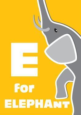 E For The Elephant, An Animal Alphabet For The Children by Elizabeta Lexa