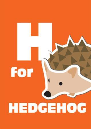 H For The Hedgehog, An Animal Alphabet For The Kids by Elizabeta Lexa