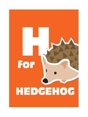 H For The Hedgehog, An Animal Alphabet For The Kids by Elizabeta Lexa