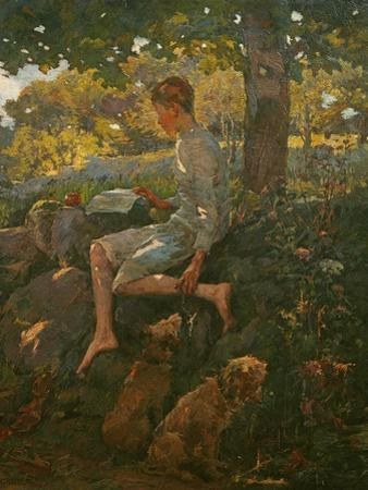 The Half Holiday, 1909 by Elizabeth Adela Stanhope Forbes