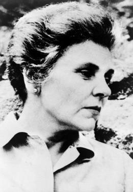 Elizabeth Bishop American Poet, Won the 1956 Pulitzer Prize for Her Book, Poems - North and South