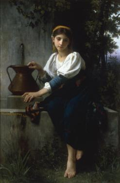 At the Well by Elizabeth Bouguereau