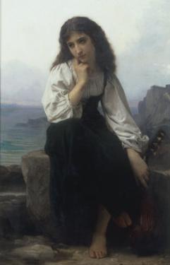 The Lute Player by Elizabeth Bouguereau