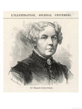 Elizabeth Cady Stanton American Women's Rights Reformer