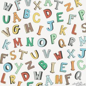 Alphabet Animals Letters by Elizabeth Caldwell