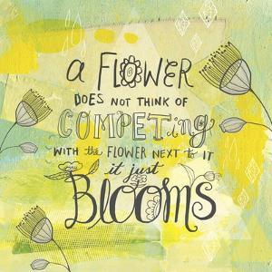 Blooms Quote by Elizabeth Caldwell
