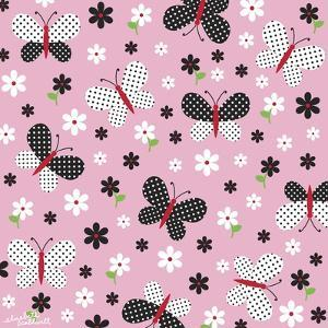 Butterflies and Dots by Elizabeth Caldwell
