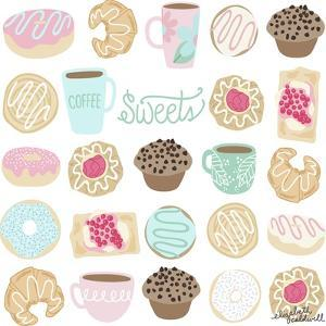 Coffee and Donuts by Elizabeth Caldwell
