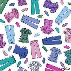 Colorful Scrubs by Elizabeth Caldwell