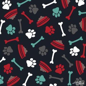 Dog Bowls and Bones by Elizabeth Caldwell