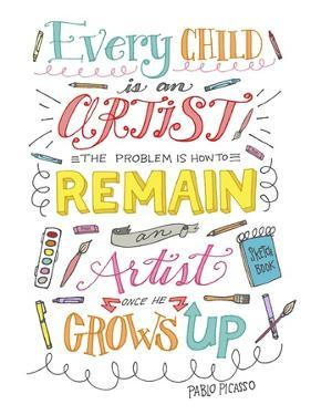Every Child Is an Artist by Elizabeth Caldwell