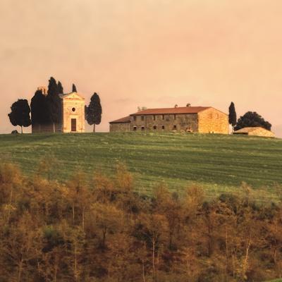 Evening Light, Tuscany