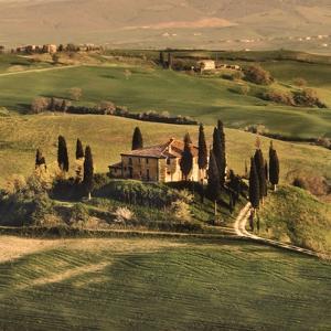 Tuscan Villa by Elizabeth Carmel