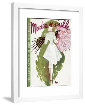 Mademoiselle Cover - April 1937 by Elizabeth Dauber
