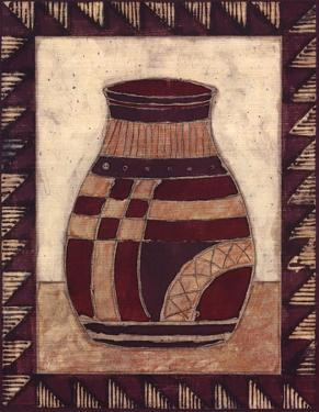 Tribal Urn III by Elizabeth David