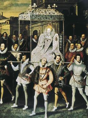 """Elizabeth I of England, Called """"The Virgin Queen"""" (1533-1603)"""
