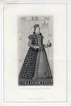 Elizabeth I of England, (Late 19th Centur) by W Ridgway