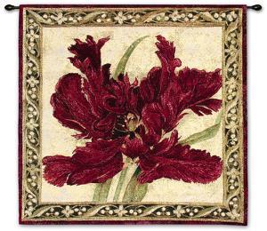 Fire Red Tulip by Elizabeth Jardine
