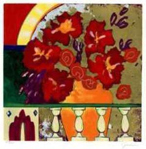 Firecracker Floral I by Elizabeth Jardine