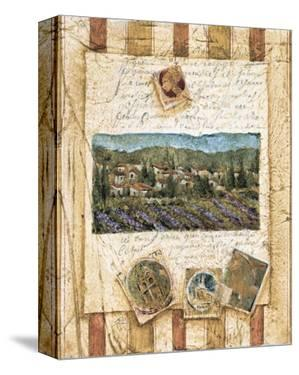 Hillside Vineyard I by Elizabeth Jardine