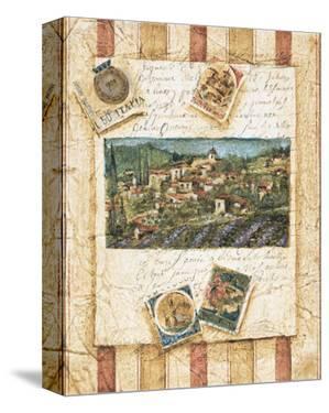 Hillside Vineyard II by Elizabeth Jardine