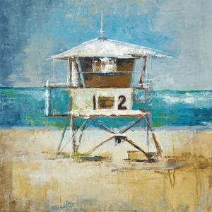 Lifeguard Tower by Elizabeth Jardine