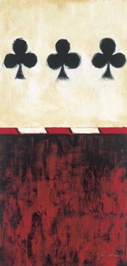 Three of Clubs by Elizabeth Jardine