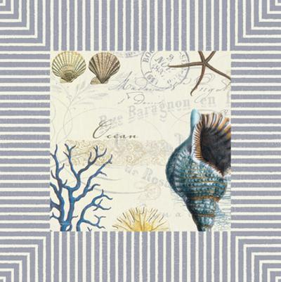 Blue Conch by Elizabeth Jordan