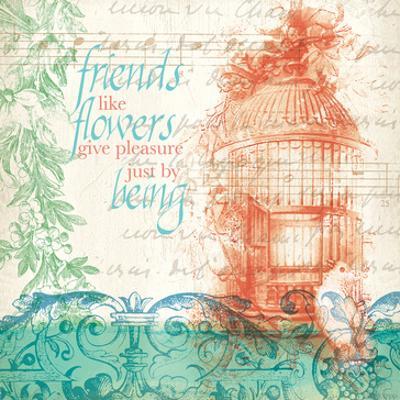 Friends Like Flowers by Elizabeth Jordan