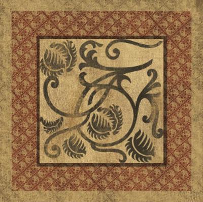 Golden Scroll I by Elizabeth Jordan