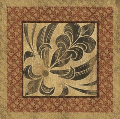 Golden Scroll II by Elizabeth Jordan