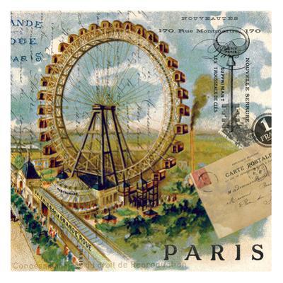 Paris Ferris Wheel by Elizabeth Jordan