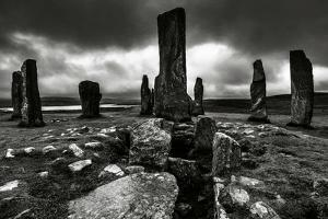 Historic Standing Stones in Scotland by Elizabeth May
