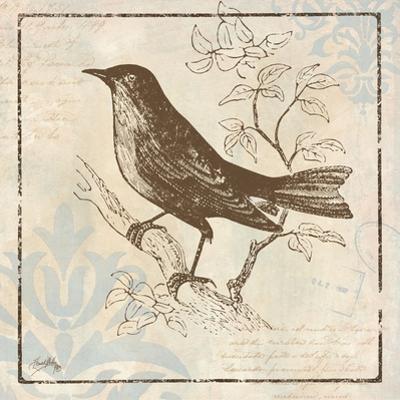 Bird Woodcut II