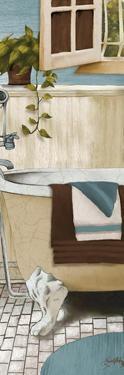 Blue Bain Panel IV by Elizabeth Medley