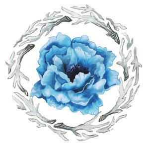 Blue Flower I by Elizabeth Medley