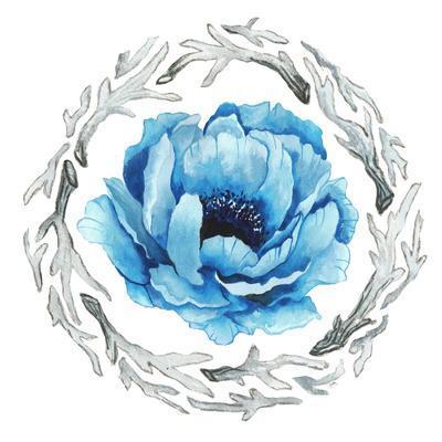 Blue Flower II