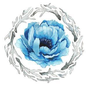 Blue Flower II by Elizabeth Medley